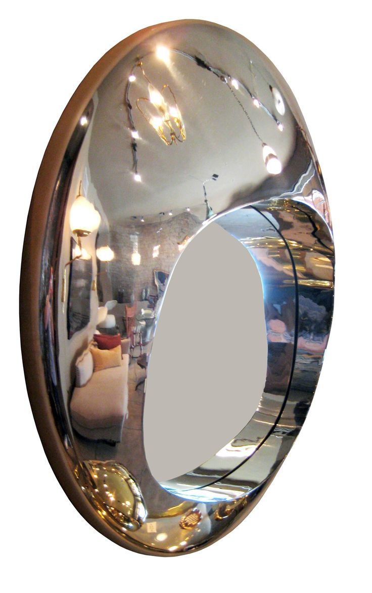 Buy Mirror One by Dana John - Made-to-Order designer Accessories from Dering Hall's collection of Contemporary Mirrors