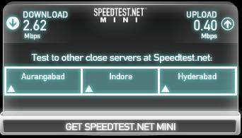 Test Internet Speed on Same Network