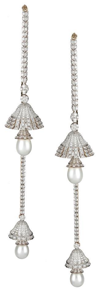 Indian Jewellery and Clothing: Diamond jhumkas from Orra jewellery