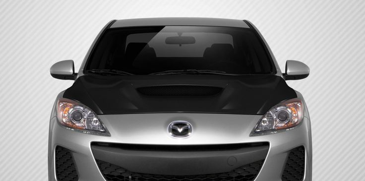 2010-2013 Mazda Mazda3 Carbon Creations M-Speed Hood - 1 Piece