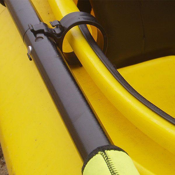 Kayak Paddle Holder | Adjustable Cockpit Paddle Clip - StoreYourBoard International