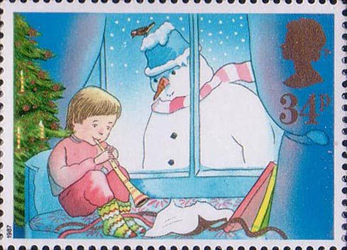 Christmas 34p Stamp (1987). Shop online for a beautiful range of Phoenix Trading greeting cards, writing paper and stationery @ www.JosCards.co.uk