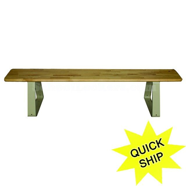 wood locker room benches with movable in several sizes strong