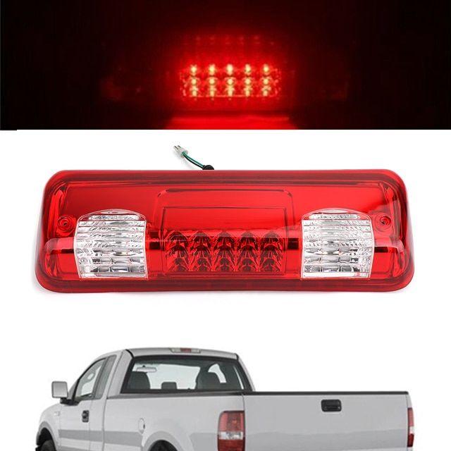 Black LED Third 3rd Brake Light for 04-08 Ford F150 07-10 Explorer Sport Trac