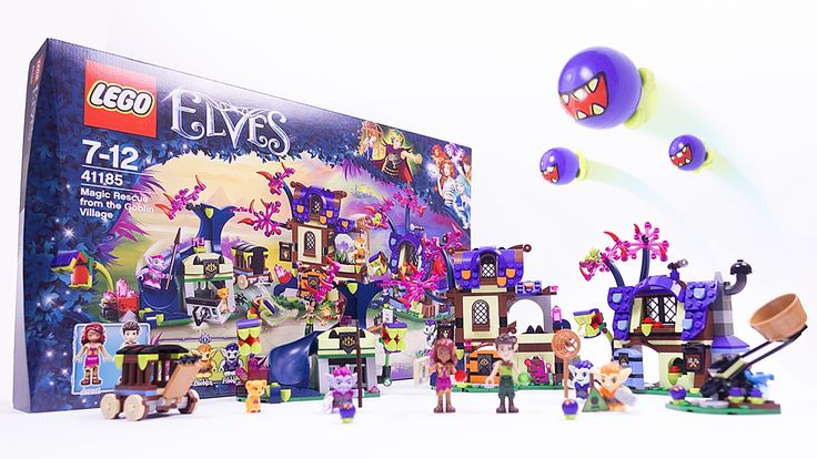 LEGO ELVES Magic Rescue from the Goblin Village - LEGO 41185 Speed Build - YouTube