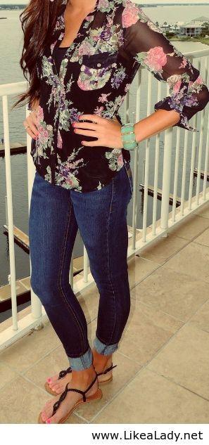 Nice shirt, cute but light.. like sandal style too