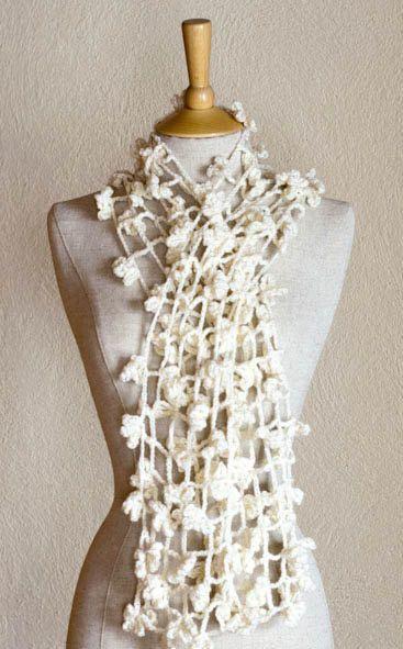 Crochet Lace Pattern For Beginners : PDF CROCHET PATTERN Scarf Shade of Spider - easy beginner ...
