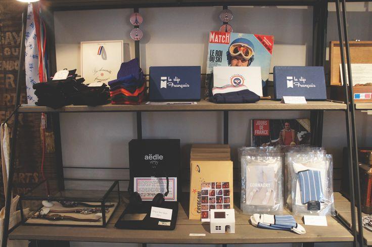 Gab & Jo 28 rue Jacob, Paris 6  http://lesnanasdpaname.com/2014/05/27/gab-jo-concept-store-francais/ #conceptstore #madeinfrance #gabandjo #shopping