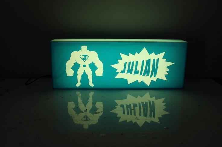 Superhero Action Light