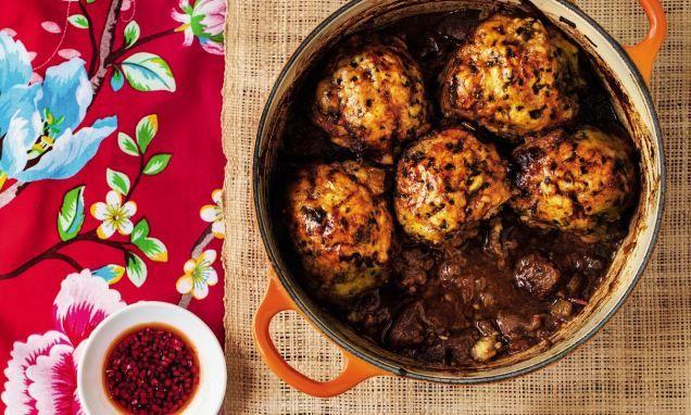 Gok Wan: Beef cobbler with coriander dumplings