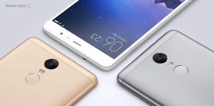 #XIAOMI #REDMI Note 3 #32GB 4G Phablet  -  GRAY