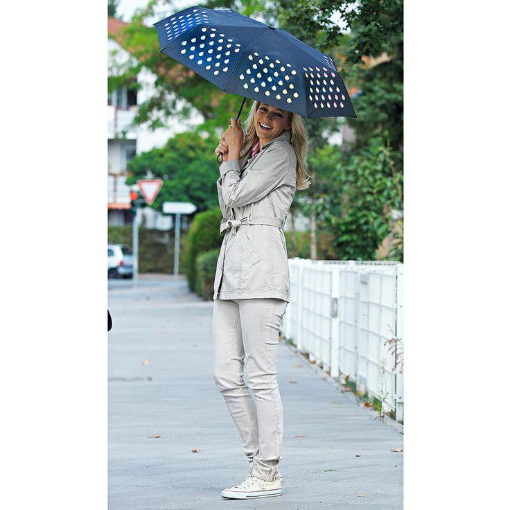 Deštník měnící barvy, černá | Magnet 3Pagen  #magnet3pagen #magnet3pagen_cz #magnet3pagencz #3pagen #dovolena