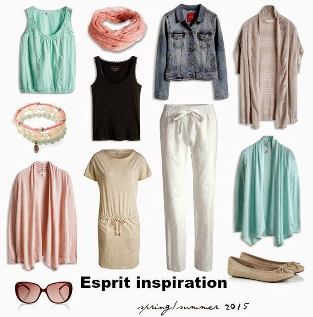 Ms. Blogger Eva: Módní inspirace Esprit jaro/léto 2015