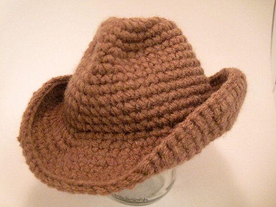Crochet Pattern Cowboy Western Hat For 16 Quot Doll