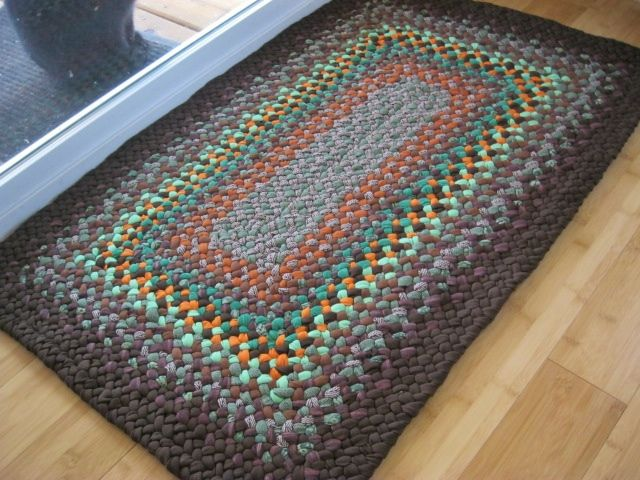Free Crochet Rectangle Rug Pattern : 256 best images about Crochet Rugs on Pinterest Trapillo ...