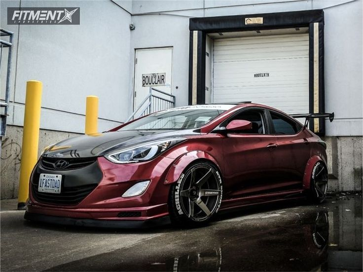 2013 Hyundai Elantra (Avante) Modified (race kit, spoiler