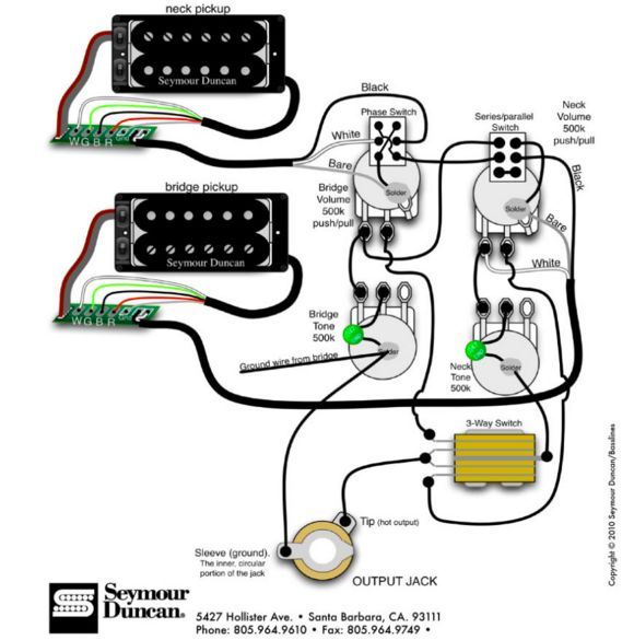 jimmy page wiring diagram with the 2 push switches