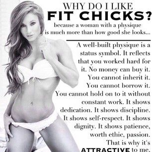 Fit chicks=The best chicks in the world