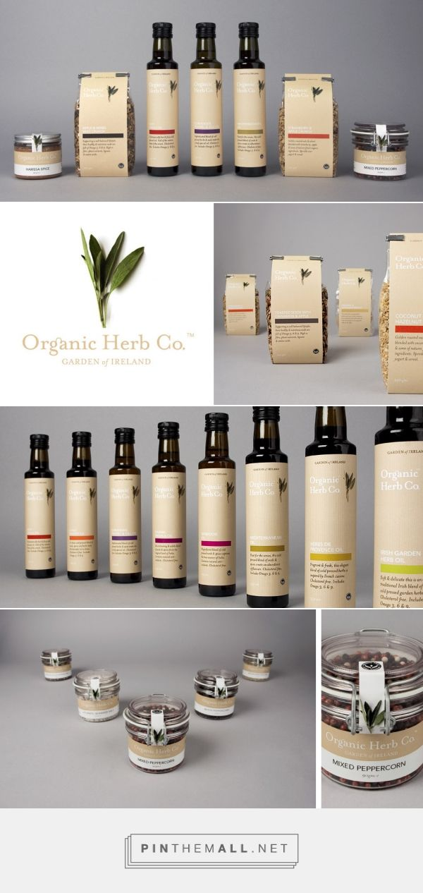 Identity and packaging for Organic Herb Co - Boyle Design Group curated by Packaging Diva PD. The range scooped the gold in the recent Great Taste Awards, proving they taste as good as the packaging looks!