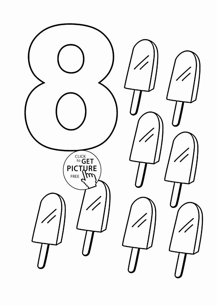 Number 0 Coloring Sheet In 2020 Coloring Pages For Kids