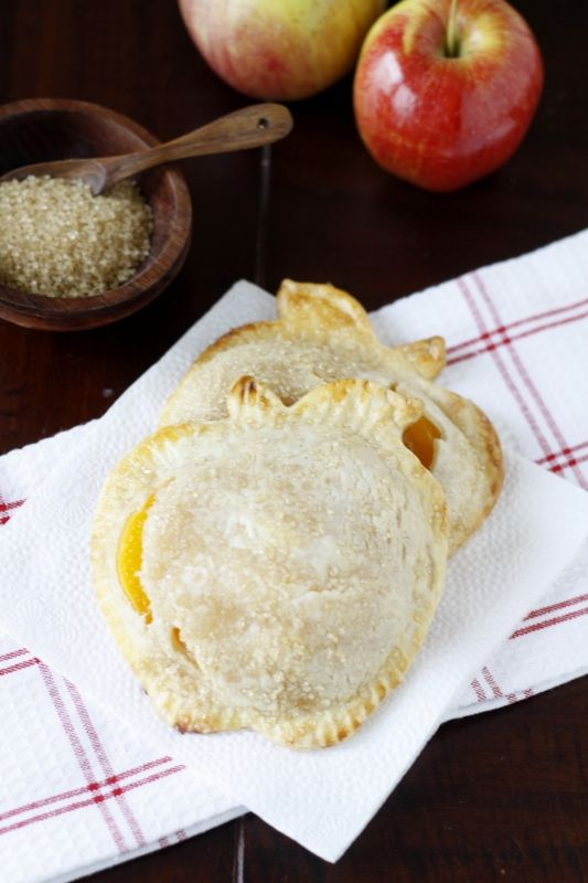 Bread pocket pies with your choice of filling: fruit, pizza, ham and cheese, sausage and egg. There is an actual pie sandwich mold for the oven or use cookie cutters.