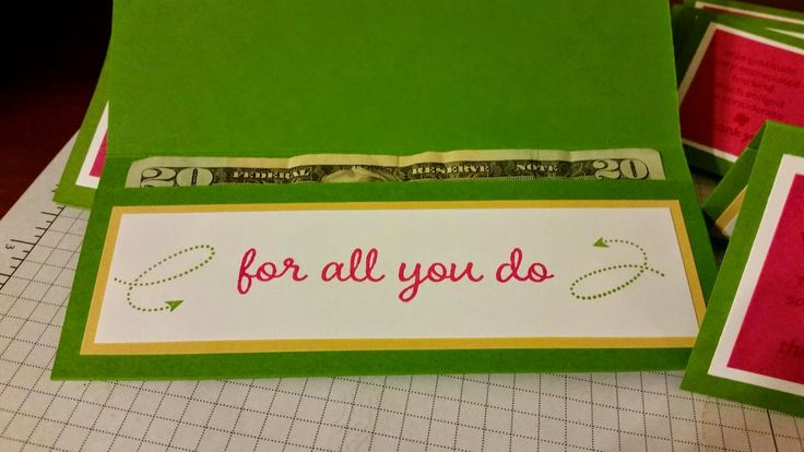 Stacy's Stampin' Spot: Thank You Money Holder