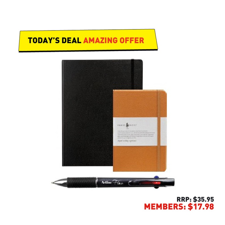 #50deals Day 29 - 6th June. Get writing with this great bundle of Fabrio Ricci and Artline pen set.