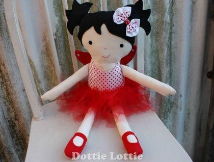 Fabric Fairy Doll