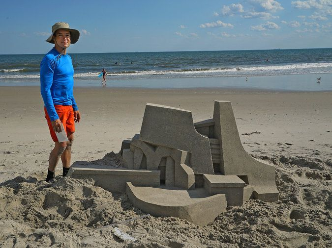 King of the Sand Castle - The New York Times