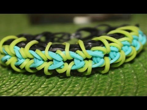 *NEW* Popped Wing Bracelet  on the Rainbow Loom