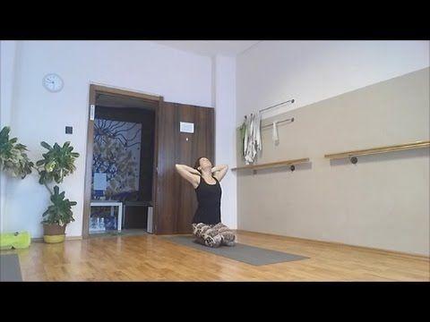 60 perces kezdő jóga  teljes test (3) - YouTube