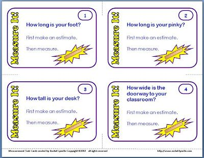 Measure It! Task Cards