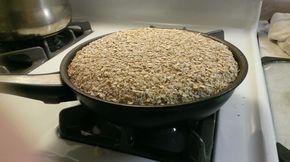 Pan de harina de garbanzo, sin gluten