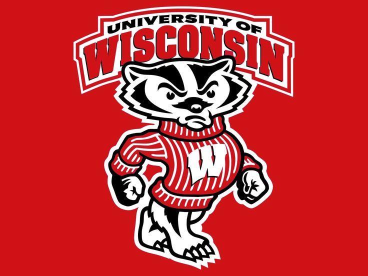 university of wisconsin badgers wisconsin pinterest