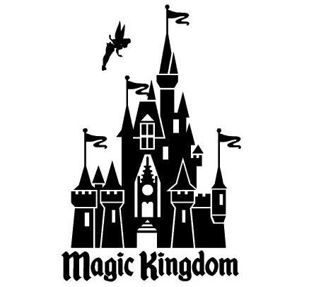 Disney World Magic Kingdom Decal Sticker - Choose Color and Size - Free Shiping in the US by TopCraft on Etsy https://www.etsy.com/listing/174532814/disney-world-magic-kingdom-decal-sticker