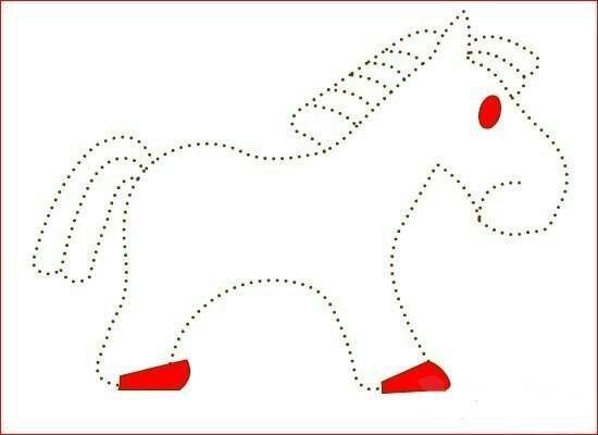 Télécharger fiches avec des animaux dont il faut suivre les pointillés pour en redessiner le contour.  Occuper les petits entre 3 et 5 ans, leurs apprendre à bien tenir un crayon, à tracer des lignes.