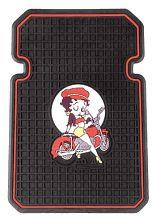 Betty Boop Auto Car Floor Mats 2 Piece Set BIKER Front