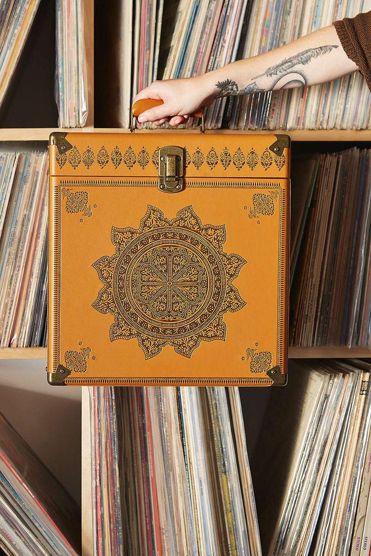 Crosley Medallion LP Carrier - Urban Outfitters