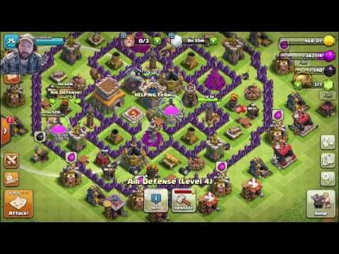 clash of clans queen hack