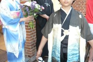 Far til Fire-på japansk aka Father of four-In japanese mode.  Feature.  Asa Film, Script Supervisor