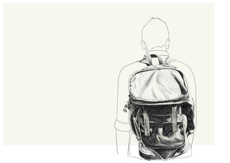 Backpack, Sketchbook - Lindsay Lombard