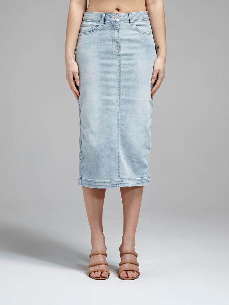 Camilla And Marc - Harlow Denim Skirt