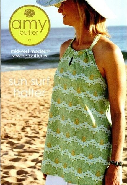 Sun and Surf Halter. When I was in high school, I made a top like this for my sisters, my friends and myself!