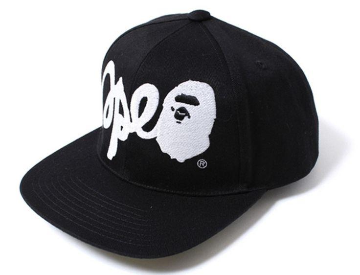 Bape Ape Script Snapback Size One Size $150 - Grailed