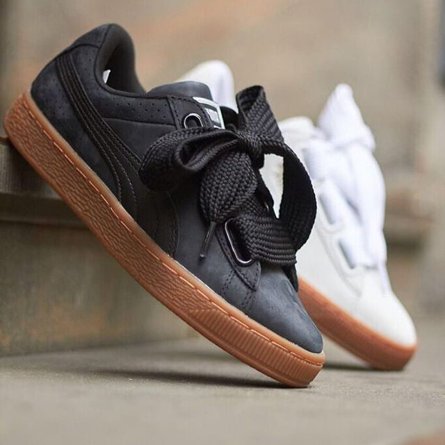 New Puma Basket Heart Perf Gum In Store & Online now