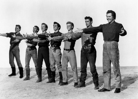 Howard Keel and all the Seven Brides for Seven Brothers <3
