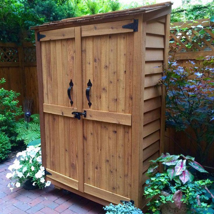 Best 10 Garden Storage Shed Ideas On Pinterest Tool
