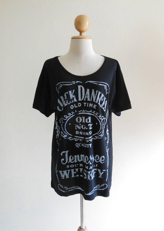 Jack Daniels Shirt Old No.7 Brand Sour Mash Tennessee Whiskey