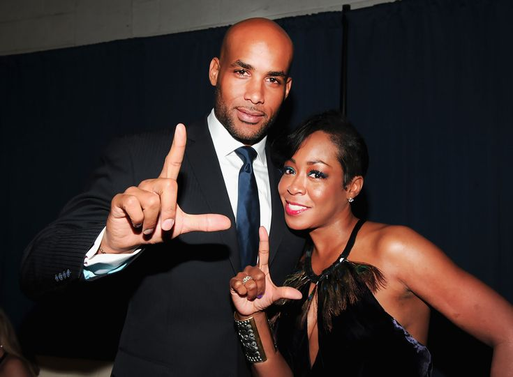 Boris Kodjoe and Tichina Arnold