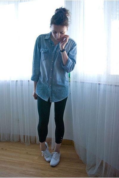 H-m-shirt-leggings-keds-shoes